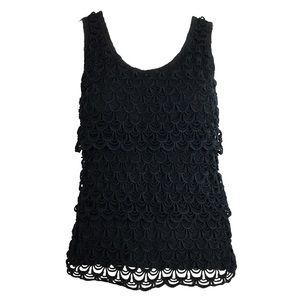 J.CREW Fish scale sleeveless top